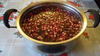 Свекольник (холодный суп)!