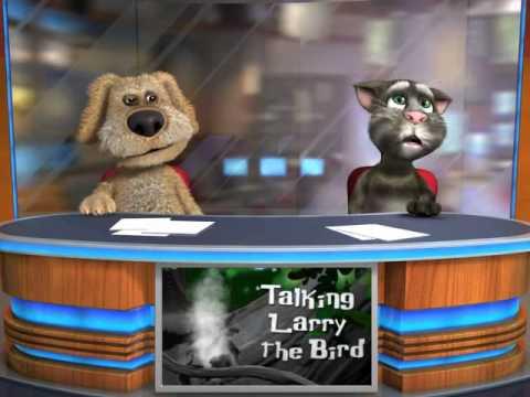 Talking Tom and talking Ben arguing - YouTube