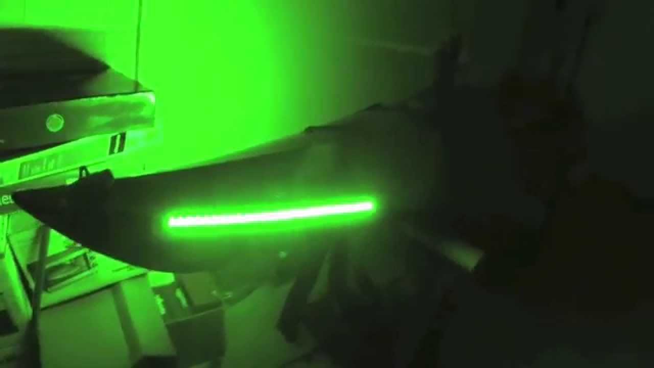 Supernova sit in kayak fishing lights youtube for Kayak lights for night fishing