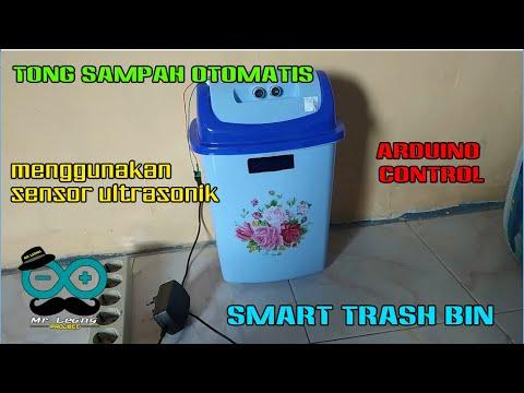 Membuat Tong Sampah Otomatis