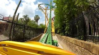 Nova montanha russa - Busch Gardens - Cheetah Hunt - Renan e Solange - Lama Racing