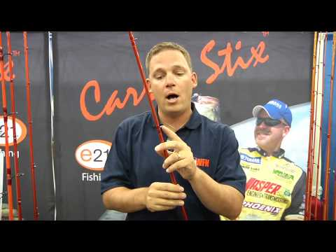 ICAST 2010 - New E21 Carrot Stix Wild Rods