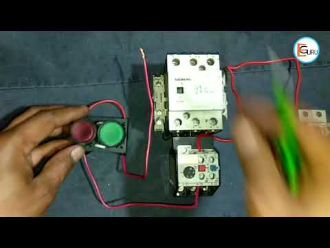 DOL Starter Control Wiring | Direct Online Starter Circuit Connection By Electric Guru