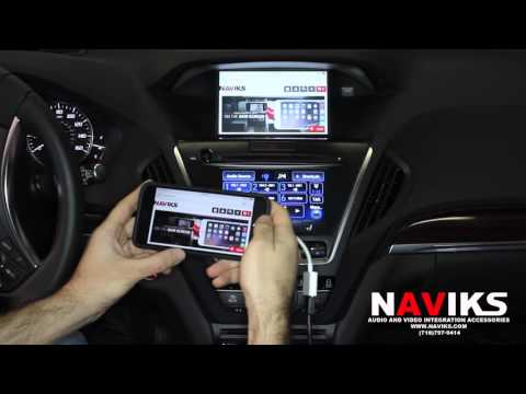 2016 Acura MDX NAVIKS HDMI  Interface Add: Smartphone Mirroring