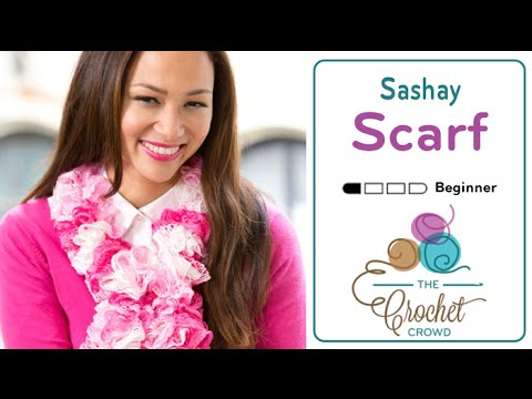 How To Knit A Scarf Sashay Scarves With Red Heart Boutique Youtube