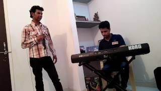 Bhari duniya main akhir dil ko singer santosh jaidia live performance