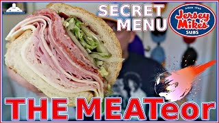 I review the jersey mike's® secret menu item - meateor invented this by putting all 8 meats that offers on to mi...
