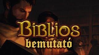 Biblios - társasjáték bemutató