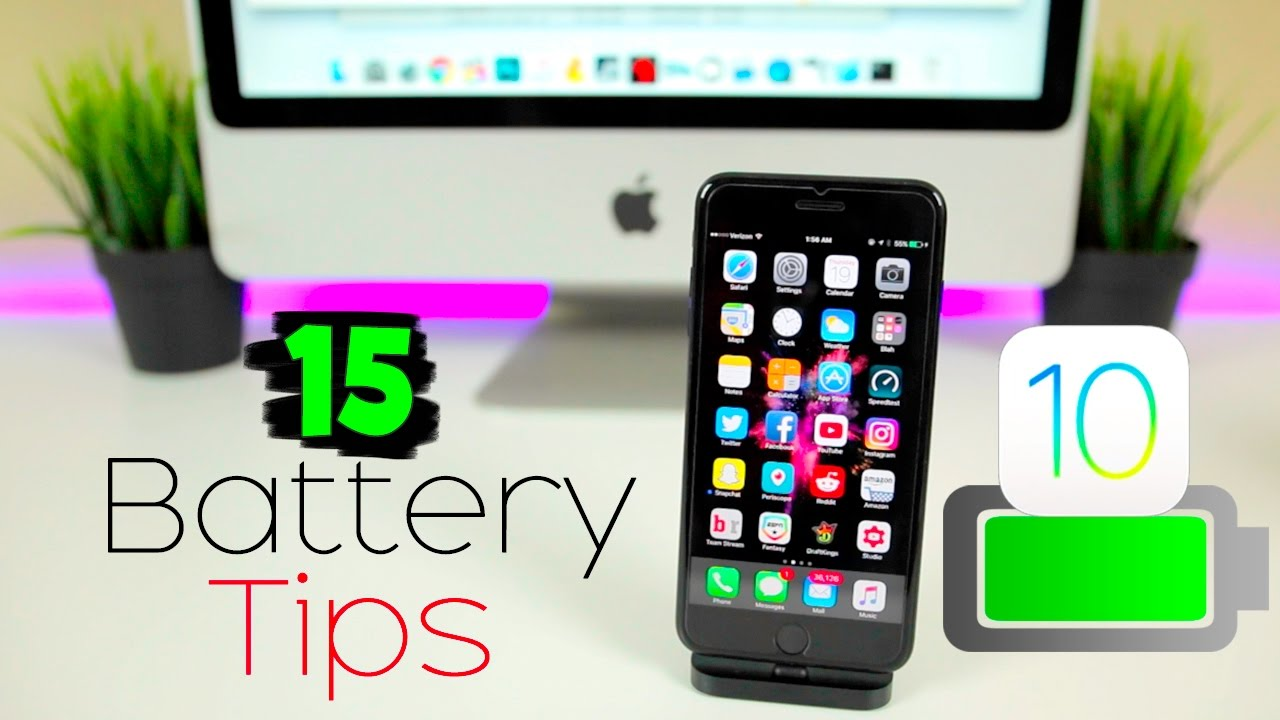iphone battery saving tips 15 best tips to improve iphone battery on ios 10 10 15190