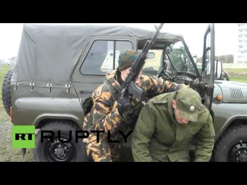 Russia: Elite GRU forces demonstrate their deadly skills