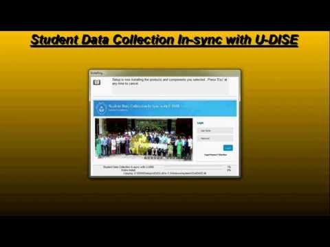 Student Data Entry In-sync with U-DISE: Independent Utility (Without Oracle)