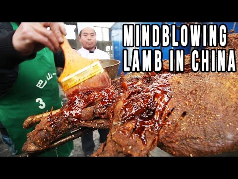 Thumbnail: Eating A Whole Roast Lamb in China | Mongolian Food, Sichuan Style