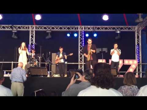 Ealing Jazz Festival - Alice Auer on stage