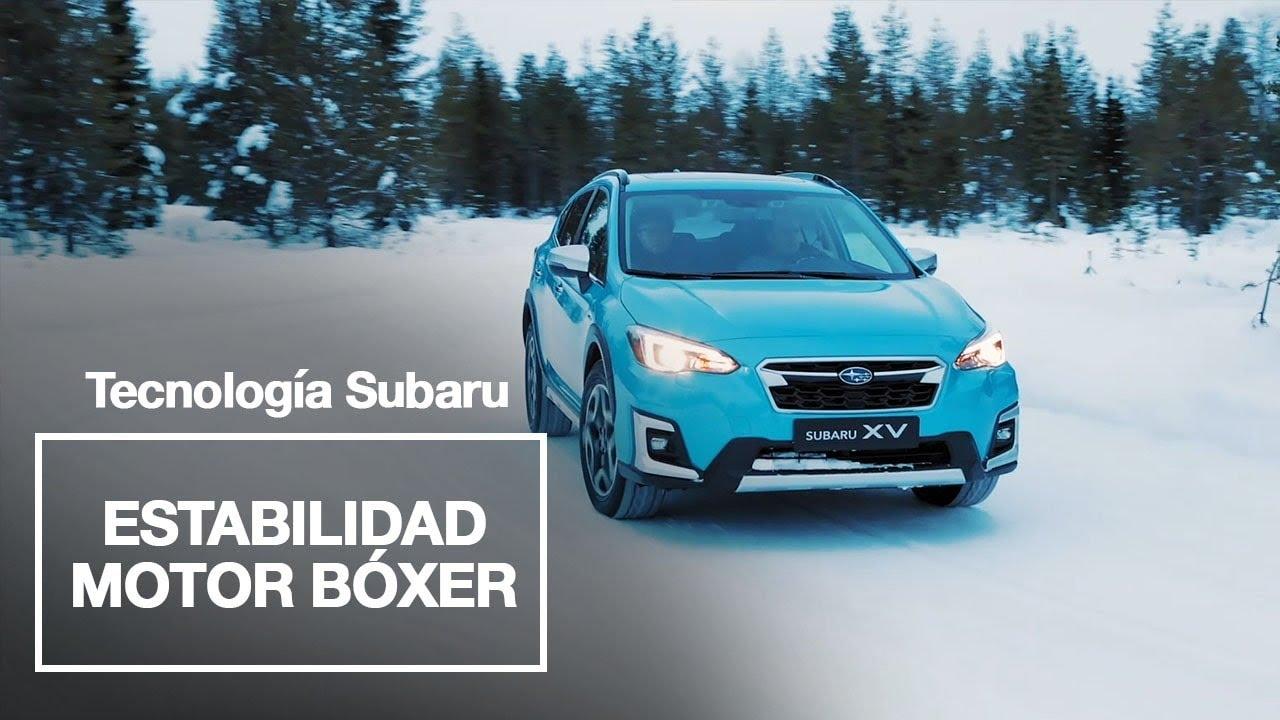 Subaru | Motor Bóxer, experimenta la máxima estabilidad