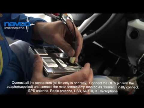 Mounting instruction In-Touch Infotainment unit Suzuki Ignis