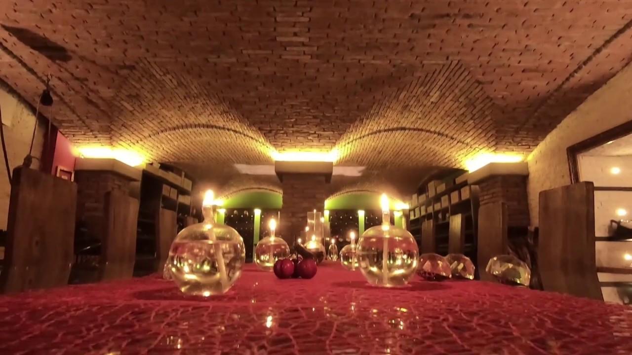 Soffitto a volte in mattoni per taverna privata pietrantiche