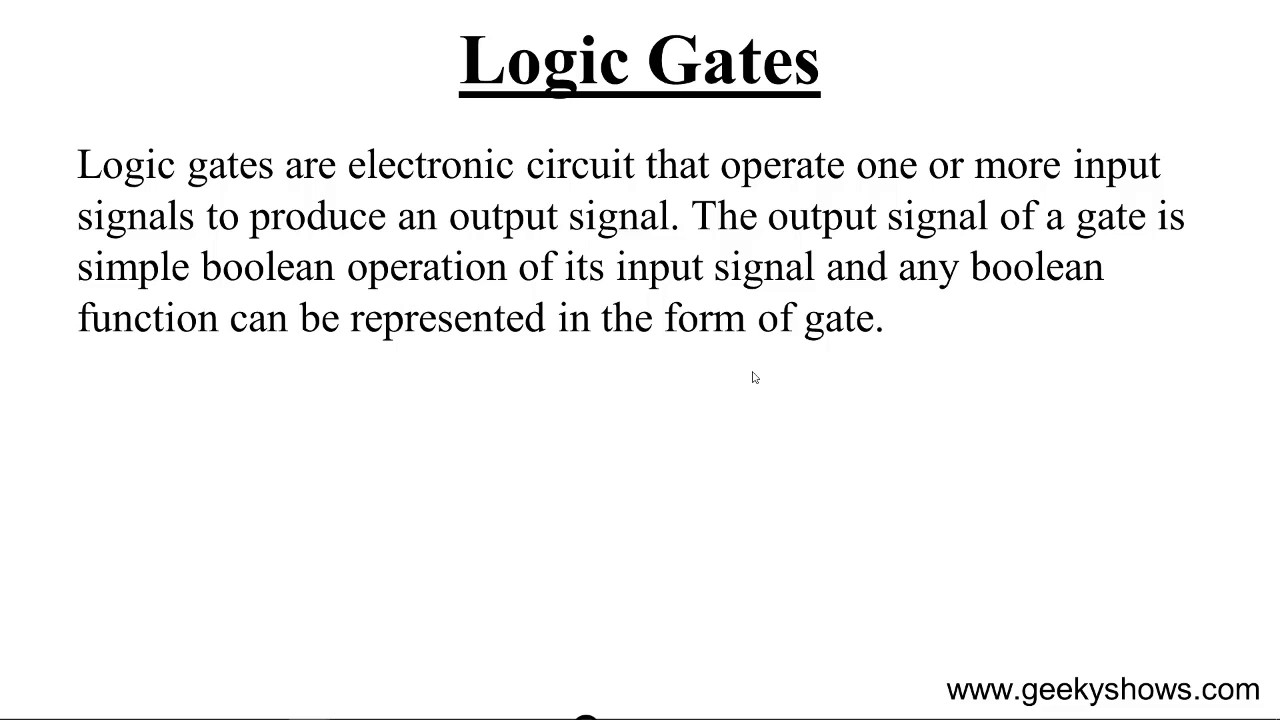 What is logic 43