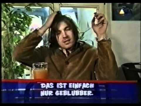 Evan Dando of The Lemonheads opens viewer letters on Viva, German TV