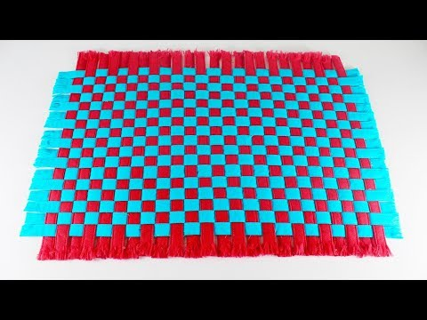Amazing-Doormat-Out-Of-Shopping-Bags | DIY-Paposh