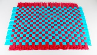 Amazing-Doormat-Out-Of-Shopping-Bags   DIY-Paposh