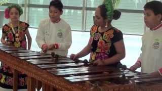 """Concierto del """"Rincón de la Marimba"""" de Oaxaca, México, en la Comisión Europea"""