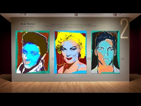 Photoshop Tutorial: Part 2 - Create Andy Warhol-style, Pop Art Portraits! (Style #3)