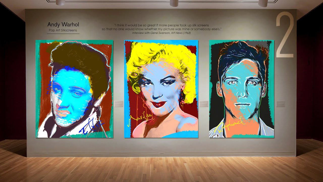 License: Artistic fashion inspired by andy warhol exclusive photo
