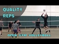 QUALITY REPS - Open Gym Volleyball 3/23/17
