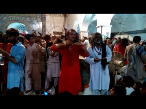 DHAMAAL During urs sehwan sharif 2016