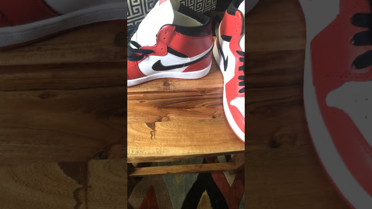 e89ae7fd92bbbf DHGATE Jordan 1 (Chicago ones) - YouTube