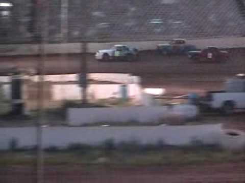 joshs heat 7 4 2009 at 105 Speedway in Hobby Stock