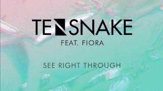 Tensnake feat  Fiora. - See Right Through (Original Mix)