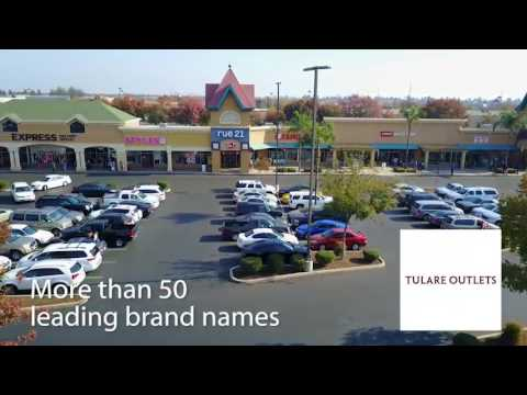 048e0d579ba78 Tulare Outlets (Drone Video) - YouTube