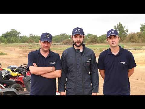 Le Rallye des tondeuses Santamaria - L'interview team TGV
