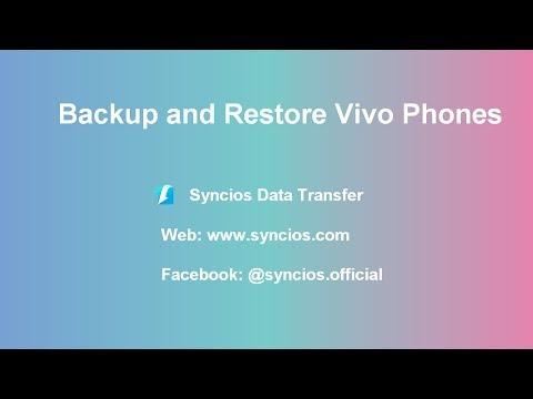 How to Backup and Restore Vivo V3/V3 Max - Syncios