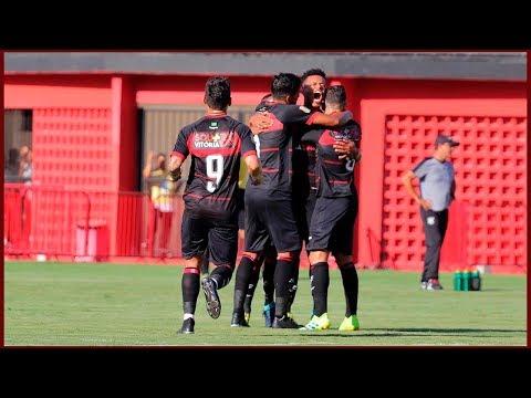 Vitória 1 X 1 Ceará. Gol de Edcarlos. (16/2/2019)