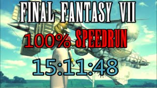 Final Fantasy VII : 100% Speedrun in 15:11:18