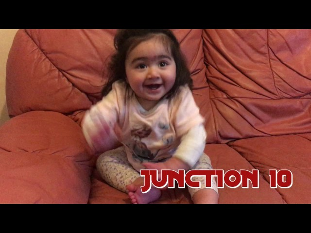 Cute very Little Only10 Months old baby dance   baby dance   baby bhangra   punjabi dance
