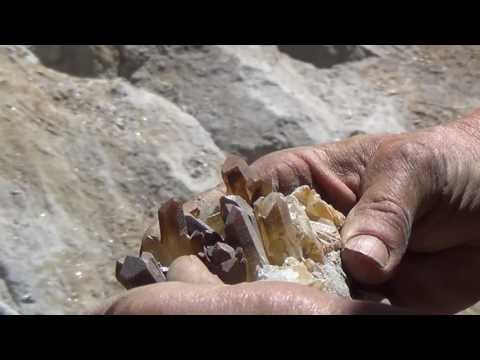 Spruce Claim, King Co., Washington with Bob Jackson mining Pyrite and Quartz crystals - Series Recap