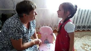 Вероника учиться читать. 6 Видеоурок про гласные и согласные. Как научить читать