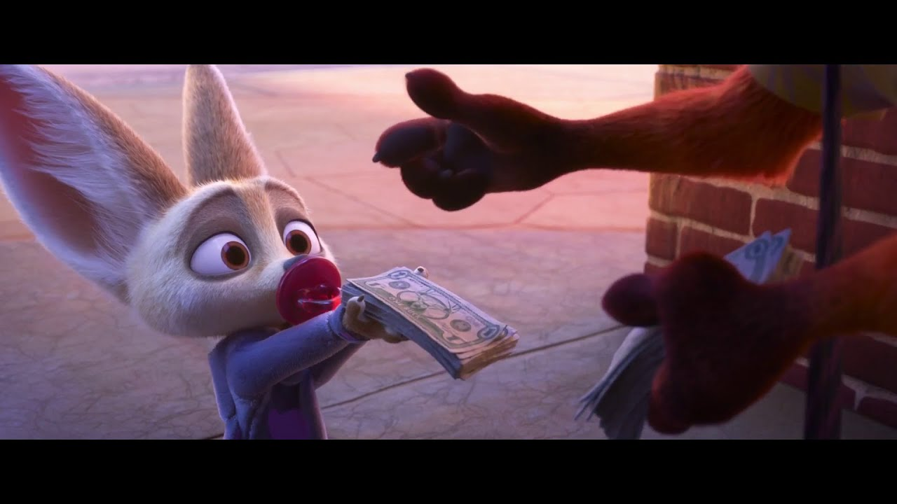 Zootopia Finnick Best Moments Youtube