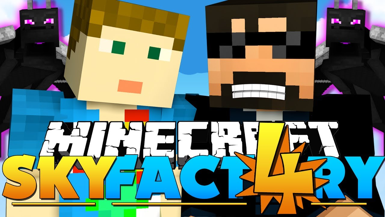 Minecraft Skyfactory 4 - Ender Dragon Butt 25 - Youtube-2450