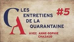 Anne-Sophie Chazaud: Il est inconcevable que ces gens gardent la main sur le monde d'après.(EDLQ#5)
