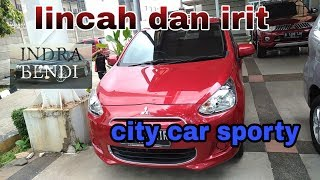 Review Mobil Bekas, Mitsubishi Mirage GLX manual th 2016