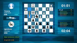 Chess Game Analysis: Casarp - ignottuss : 0-1 (By ChessFriends.com)