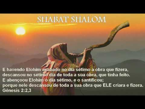 Shabat Shalom o toque do shofar