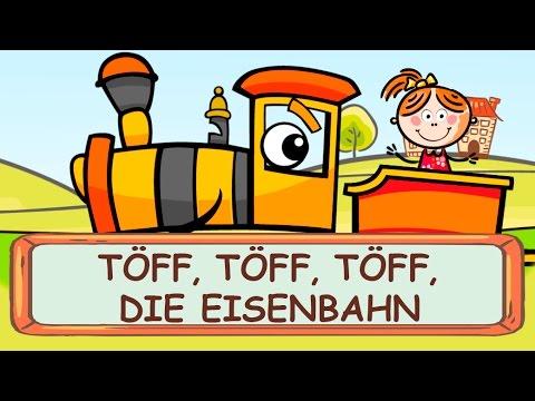 Töff Töff Töff die Eisenbahn - Kniereiter zum Mitsingen || Kinderlieder