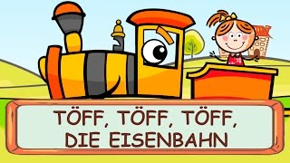Töff Töff Töff die Eisenbahn - Kniereiter zum Mitsingen    Kinderlieder