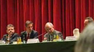 Schäuble in Titisee über die innere Sicherheit & datenschutz