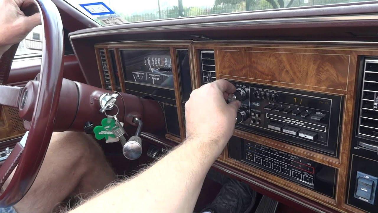 1983 buick riviera convertible   youtube